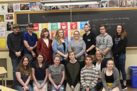 Dunnville Secondary School Class Picture: Innovation Project